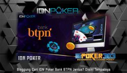 IDN Poker Bank BTPN Jenius